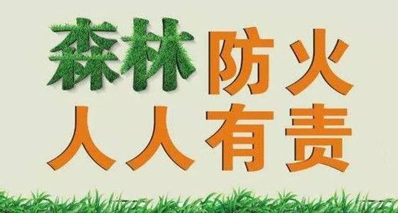 咸宁市风险重点部位设置1449个森林防火检查站
